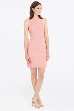 Ann Taylor - Jacquard Sheath Dress