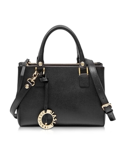 Francesco Biasia - Embossed Leather Satchel Bag
