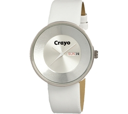 Crayo  - CR0208 Leather Strap Watch