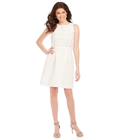 Taylor - Lace Pop-Over Dress