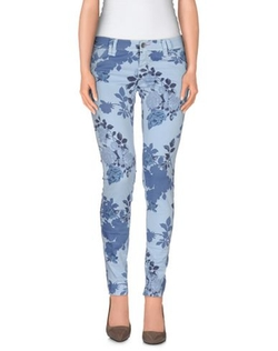 Jcolor - Floral Design Casual Pants