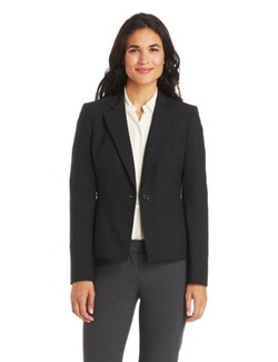 Anne Klein - One-Button Notched Suit Jacket