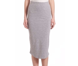 Monrow - Midi-Length Pencil Skirt