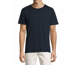 7 For All Mankind - Raw-Pocket Crewneck T-Shirt