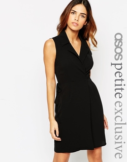 ASOS - Wrap Dress In Crepe