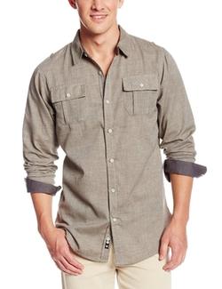 Burnside - Locked Long-Sleeve Woven Shirt