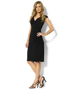 Lauren Ralph Lauren - Cap-Sleeve Jersey Dress