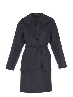 Rochas - Notch-Lapel Double-Faced Wool-Blend Coat