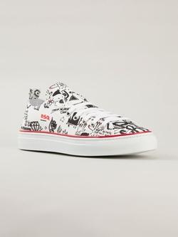 Dsquared2 - Graffiti Print Sneakers
