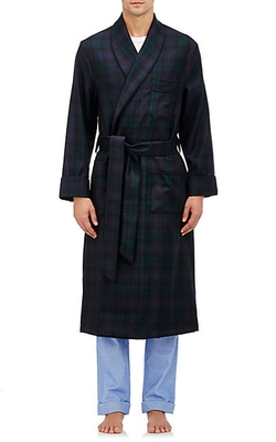 Barneys New York  - Plaid Robe