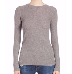 ATM Anthony Thomas Melillo  - Micro-Ribbed Crewneck Top