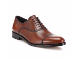 Salvatore Ferragamo  - Guru Cap Toe Burnished Oxford Shoes