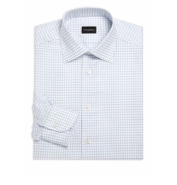 Ermenegildo Zegna - Classic-Fit Long Sleeve Cotton Dress Shirt