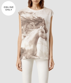 All Saints - Equus Brooke T-Shirt