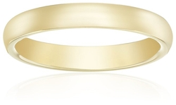 Amazon Collection - Plain Wedding Band Ring