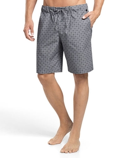 Hanro - Sergio Printed Woven Lounge Shorts