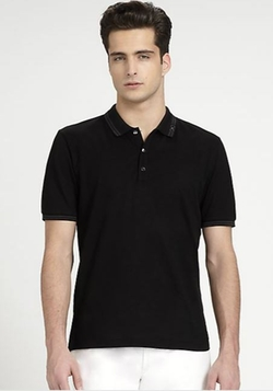 Salvatore Ferragamo  - Striped Polo Shirt