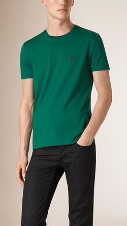 Burberry - Liquid-Soft Cotton T-Shirt