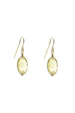Delphine Gallery - Lemon Quartz Earrings
