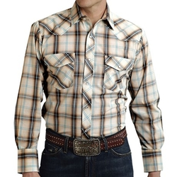 Roper - Plaid Western Shirt