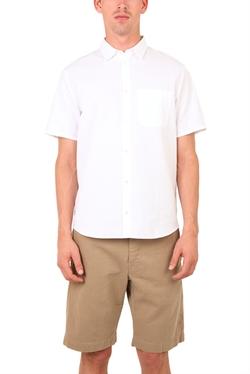 Hentsch Man - White Seersucker Shirt