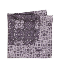 Brioni - Paisley & Plaid Silk Pocket Square