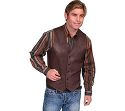 Scully - Lambskin Leather Western Vest