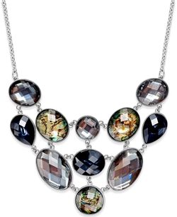 Charter Club - Stone Bib Necklace