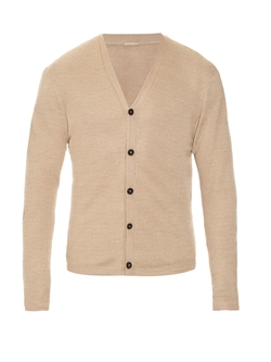 Massimo Alba - Long-Sleeved Linen-Knit Cardigan