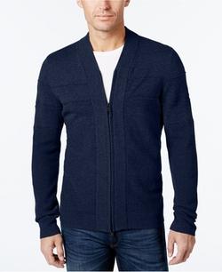 Alfani - Full-Zip Shawl Collar Cardigan Sweater
