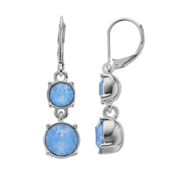 Dana Buchman - Double Drop Earrings