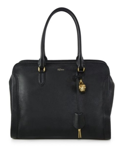 Alexander McQueen  - Padlock Large Zip Satchel Bag