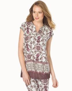 Soma - Short Sleeve Popover Pajama Top