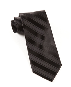 The Tie Bar - Solid Stripes Tie