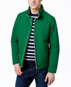 Tommy Hilfiger - Lightweight Full-Zip Stand-Collar Jacket