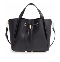 BP. - Textured Faux Leather Crossbody Tote Bag