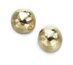 Ippolita - Gold Pin Ball Stud Earrings