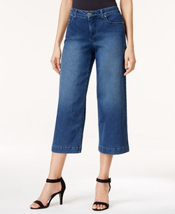 Style & Co. -  Angel Wash Culotte Jeans