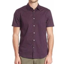 John Varvatos Star USA  - Swirl Printed Sportshirt