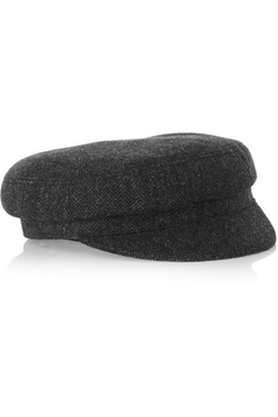 ÉToile Isabel Marant - Herringbone Tweed Flat Cap