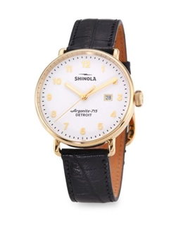 Shinola  - Canfield Alligator Strap Watch