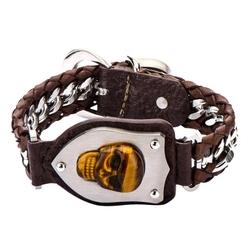 Inox - Tiger Skull Bracelet