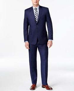 Marc New York By Andrew Marc - Slim-Fit Solid Blue Suit