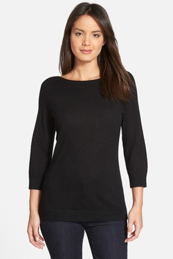 Nordstrom - Bateau Neck Cashmere Sweater