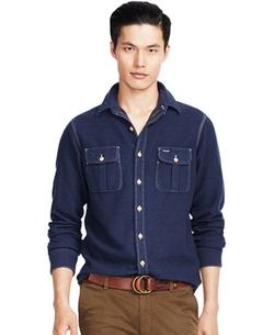 Polo Ralph Lauren  - Cotton-Wool Workshirt