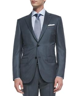 Ermenegildo Zegna - Two-Piece Wool / Silk Pindot Suit