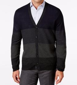 Ryan Seacrest Distinction  - Colorblocked Cardigan