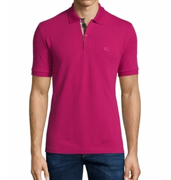 Burberry - Short-Sleeve Pique Polo Shirt