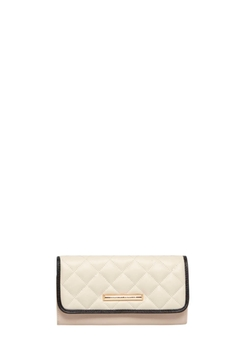 Dorothy Perkins - Nude Large Quilted Purse
