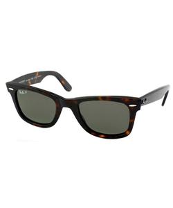 Ray-Ban - Havana Wayfarer Plastic Sunglasses